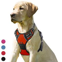 pull dog harness front clip