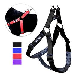 Peak Pooch No Pull Padded Comfort Nylon Dog Walking Harness