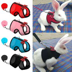 Rabbit Harness and Leash Set Hamster Cat Ferrets Squirrel Ve