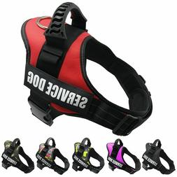 Reflective Adjustable Padded Dog Harnesses Breathable Solid