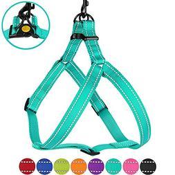 CollarDirect Reflective Dog Harness Step in Small Medium Lar