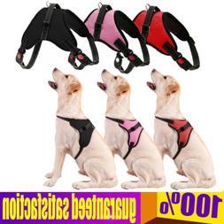 Reflective Dog Pet Vest Harness Adjustable Nylon Small Mediu