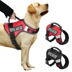 Reflective Emotional Support Dog Harness Vest Large Dog Anim