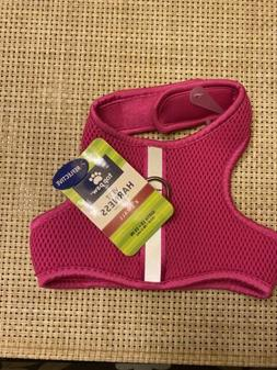 Top Paw® Reflective Vest Dog Harness size: X Small, Pink