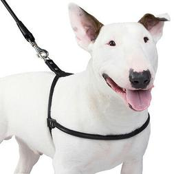 Rolled Leather Dog Harness Small Medium Large Black Brown Ha