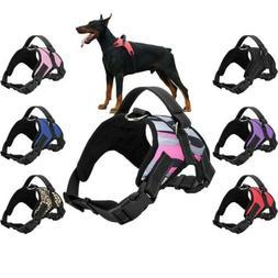 S/M/L/XL Dog Vest Harness No Pull Leash Collar Set Handle Pe