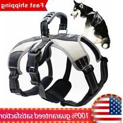 Secure Dog Harness No Pull Adjustable Dog Vest Escape-Proof
