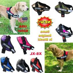 Service Dog Puppy Harness Soft Vest Adjustable Reflective No