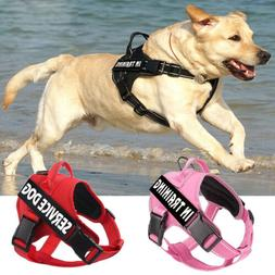 Service Dog No-Pull Harness Reflective Pet Puppy Outdoor Wal