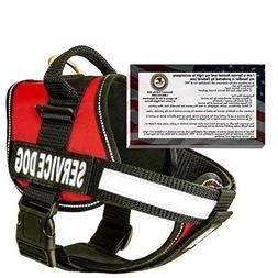 barkOutfitters Service Dog Vest Harness + 50 FREE ADA Info C