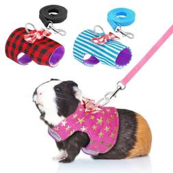 Small Animal Harness Ferret Leash Guinea Pig Hamster Squirre