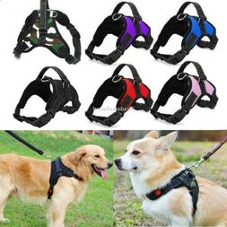 Small Dog Harness Vest No Pull Heavy Duty Adjustable with Ha