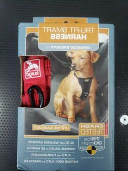 Kurgo Small Red Dog Tru-Fit Smart Harness New! Red