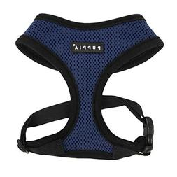 Puppia Soft Dog Harness, Royal Blue, Large
