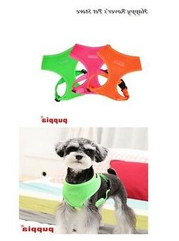 Puppia Soft Dog Harness - Pick Size - High Visibility - NEON