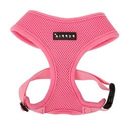 Puppia Soft Dog Harness, Pink, Medium