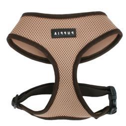 Puppia Soft Dog Harness, Beige, Large