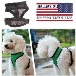 Soft Mesh Dog Cat Harness No Pull Comfort Padded Vest for XS