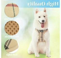 Soft Mesh Dog Harness Pet Puppy Comfort Padded Vest No Pull