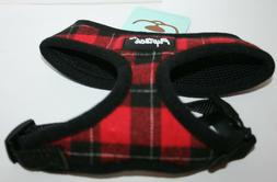 Pupteck Soft Mesh No Pull Plaid Dog Harness - Small