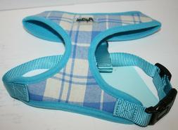 Pupteck Soft Mesh Plaid Dog Walking Harness Vest - Small Bre