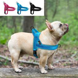Soft No Pull Dog Harness for Small Large Dogs Quick Fit Refl