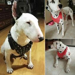 26-34'' Spiked Studded Leather Dog Harness For Bulldog Pitbu