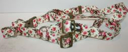 Blueberry Pet Spring Scent Floral Rose Print Ivory Step In D