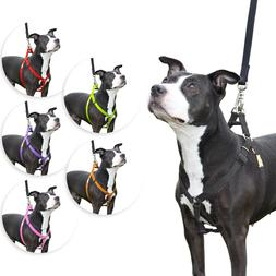 step in dog harness nylon light padding