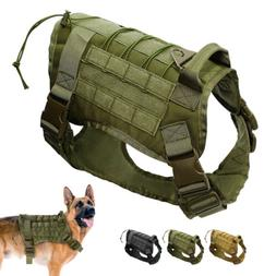 Tactical Military K9 Dog Harness Water-Resistant Comfortable
