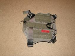 OneTigris Tactical Service Dog Vest L Water-Resistant Comfor
