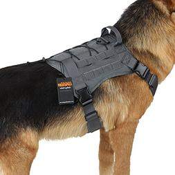 EXCELLENT ELITE SPANKER Tactical Service Dog Vest Training H
