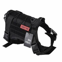 OneTigris Tactical Service Dog Vest – Water-resistant Mili