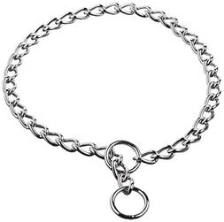 Coastal Pet Titan Chrome Choke Chain Dog Training Collar