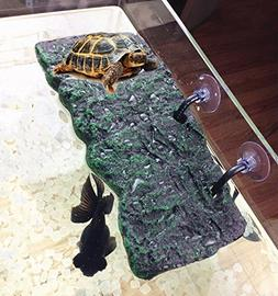 Turtle Floating Island Platform PU Foam Aquarium Float Decor