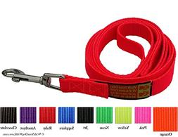 Unique Wide Handled Dog Lead Leashes, Sport Edition, 3 Foot