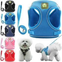 Pet Control Harness for Dog Cat Soft DOUBLE Mesh Walk Collar