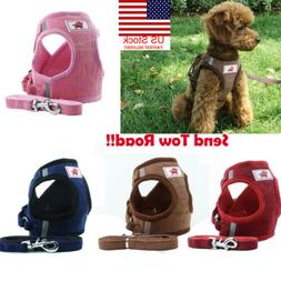 US Small Cat Dog Harness Leash Vest Pet Puppy Walking Leads