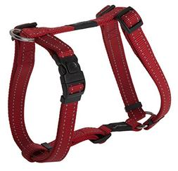 "Rogz Utility Large 3/4"" Fanbelt Adjustable Reflective Dog H-"