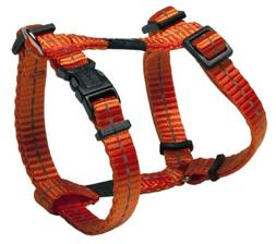 Reflective Adjustable H Harness for Small Dogs; matching col
