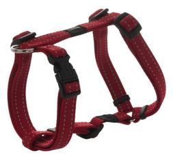 Reflective Adjustable Dog H Harness for Small to Medium Dogs