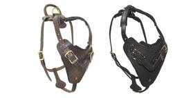 DOGLINE Viper Invader Leather Dog Harness - Professional or
