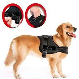 xl black tm no pull dog vest